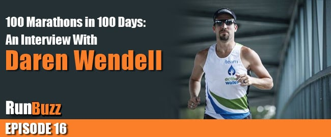 100 Marathons In 100 Days: An Interview With Daren Wendell