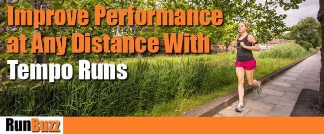tempo runs training
