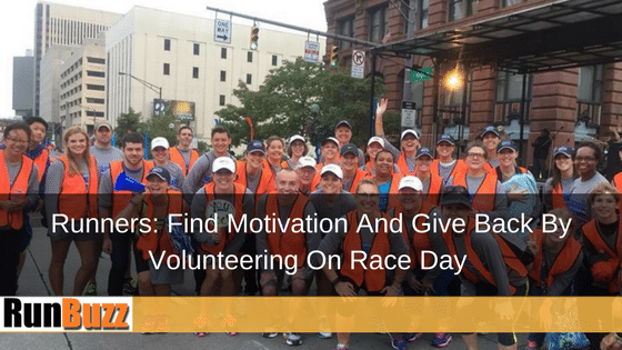 Runners Volunteer at Columbus Marathon