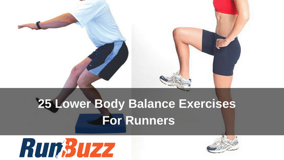 25 lower body balance exercises for runners