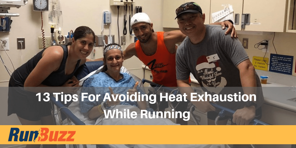 how to avoid heat illness while running